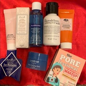 Bundle on face cleansing